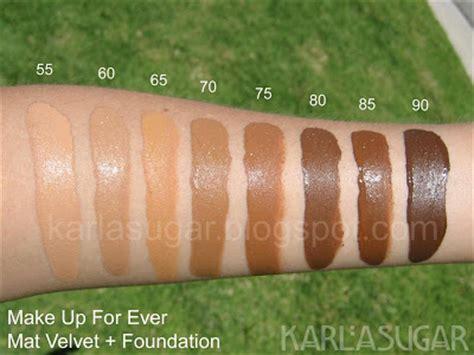 Makeup Forever Mat Velvet make up for mat velvet foundation swatches photos reviews