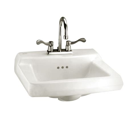 american standard bathroom sinks american standard comrade wall mount bathroom sink for
