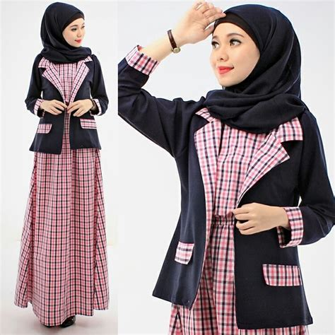 Kalila Maxy Bahan Katun Dress Cantik Murah Simple 17 best images about baju gamis terbaru on models satin and jumpsuits