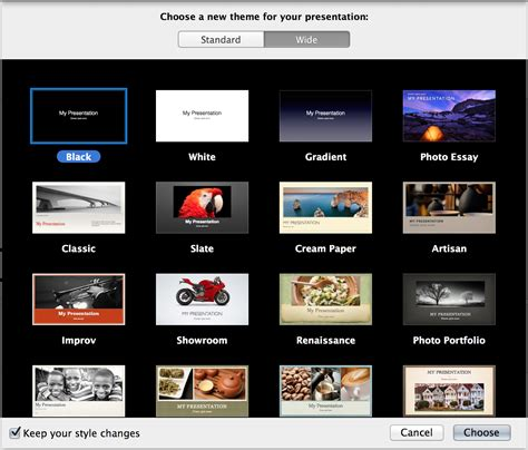 Changing Themes In Keynote | using 2 themes in keynote 13 ask different
