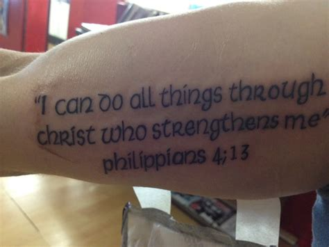 philippians 413 tattoo pin philippians 413 reproduced with permission from