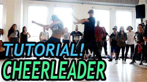 dance tutorial f x cheerleader omi dance tutorial mattsteffanina