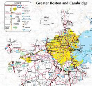 Greater Boston Map by Greater Boston Map With Cities Pictures To Pin On