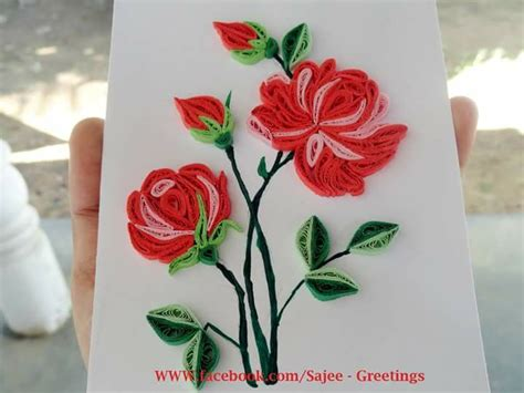 quilling work tutorial 194 best quilling flowers rose images on pinterest
