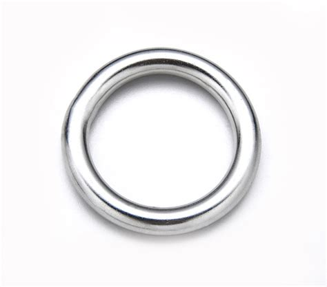 O Ring Stainless 8x50mm Welded Stainless Ring stainless steel welded ring o ring stainless steels317