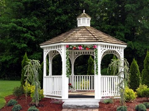 Backyard Garden Wedding Ideas Construction Gazebo The Many Functions Of The Pavilion
