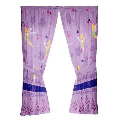 tinkerbell curtains tinkerbell curtains disney classic lavender backdrop lace