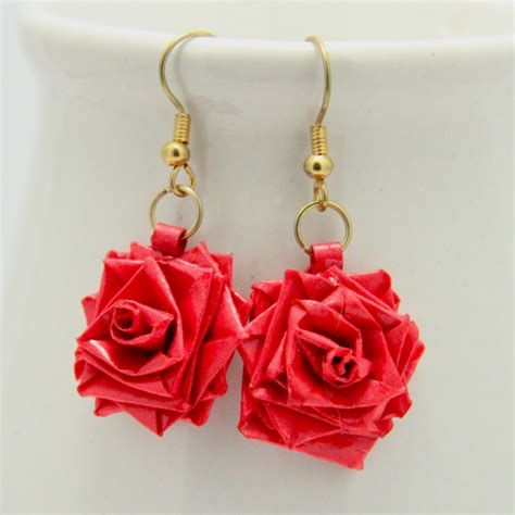 paper quilling rose earrings tutorial 18 paper quilling earrings guide patterns