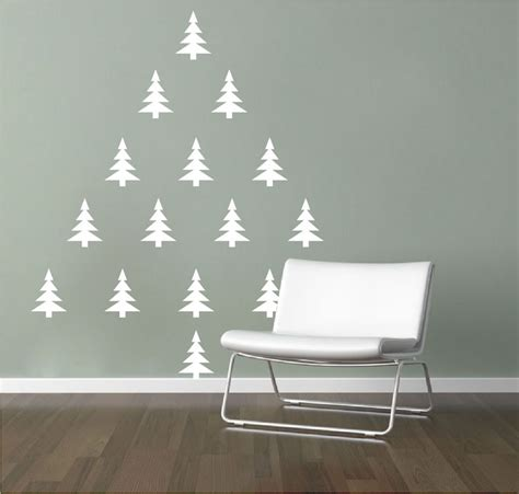 jubiltree a reusable wooden christmas tree tree wall decals murals primedecals