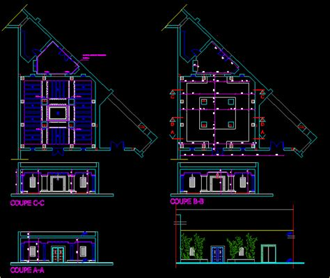 coffee shop  dwg design elevation  autocad designs cad