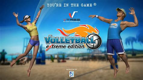 game volleyball android mod volleyball extreme edition android gameplay trailer hd