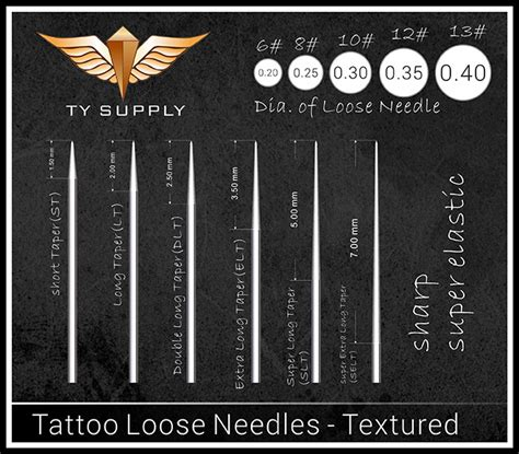 Loose Liner Tattoo Needles | products tattoo needles tattoo loose needles tianyu