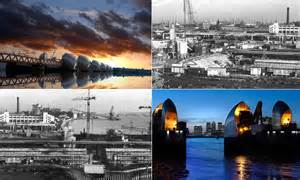 thames barrier in action thames barrier turns 30 stunning images reveal the