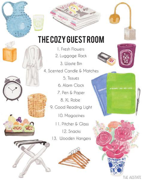 guest bedroom essentials guest post the aestate the cozy guest room erika brechtel