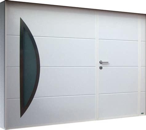 le 9 porte portail de garage avec porte obasinc