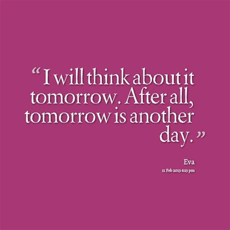 tomorrow is another day quotes quotesgram