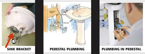 how to remove a pedestal sink how to remove a pedestal sink for plumbing repairs
