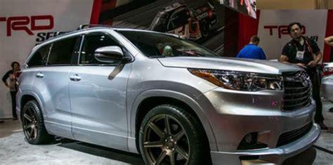 2020 Toyota Highlander Concept by 2020 Toyota Highlander Concept Design Toyota Specs And