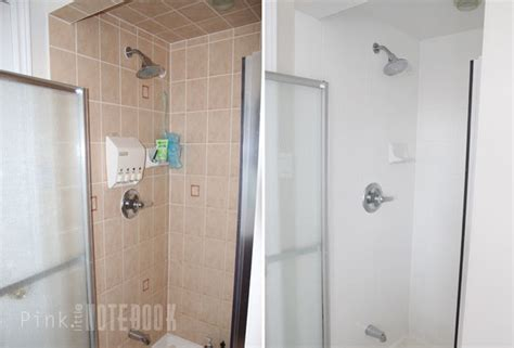 Bathroom Tub Shower Ideas by Yes You Really Can Paint Tiles Rust Oleum Tile