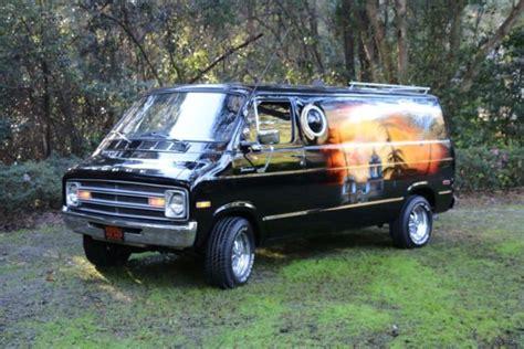 vintage dodge vans for sale 1977 dodge vintage conversion with eagles hotel