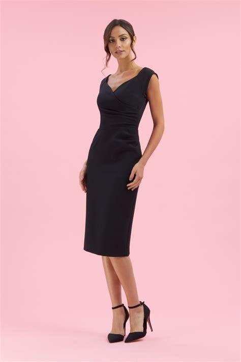 Black Dressdress Tiledress Black Vivi black