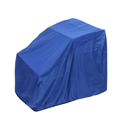 large center console boat covers blue polyester waterproof dustproof 114 5x117x102cm boat