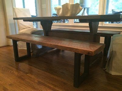 jays furniture barn custom reclaimed wood dining bench just like the griffin
