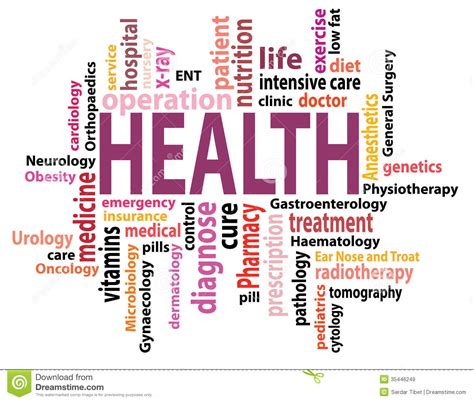 veria living health fitness diseases conditions health care medical pill word cloud stock photography