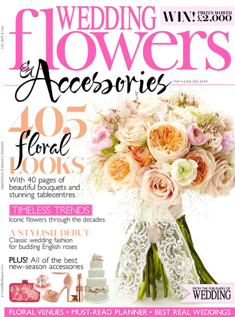 flower wedding magazine wedding flowers magazine archives for flowers