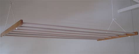 Clothes Drying Ceiling Rack by Drying Rack Air Washing Ceiling Mounted On Pulleys