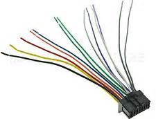 pioneer deh wire harness ebay