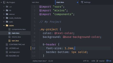 darkness beautiful dark themes develop in style with sublime text and atom editor themes