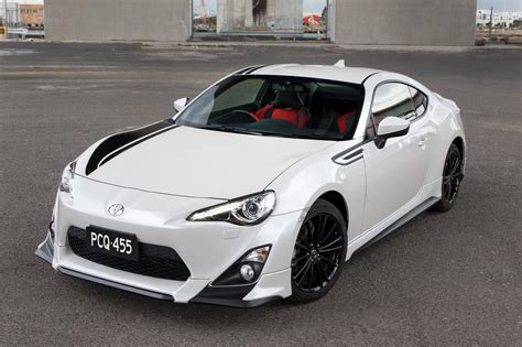 Toyota Edition Toyota Unveils Gt 86 Limited Blackline Edition For Australia