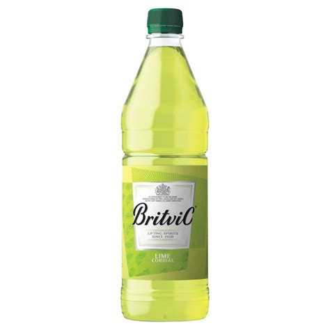 britvic lime cordial 1l from ocado