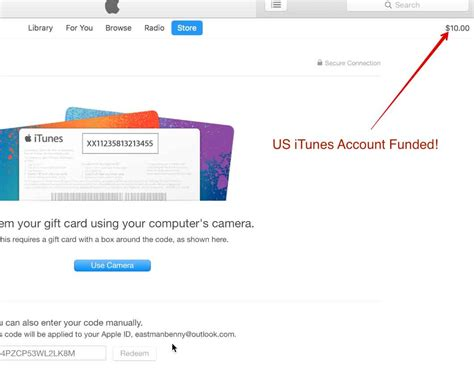 Apply Itunes Gift Card To Account - how to make a us itunes store account