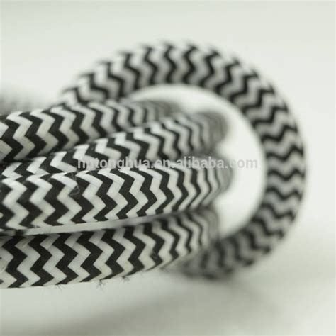 cloth covered l cord cloth covered electrical cord vintage fabric braid