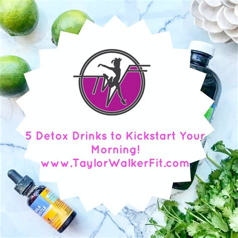 Detox Drinks To Help You by 5 Detox Drinks To Help Jumpstart Your Day