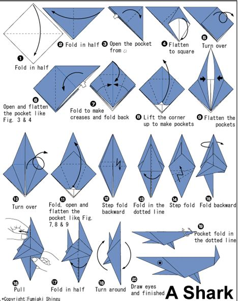 free printable origami animals easy origami fish printable instructions 1 ideas for