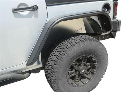 Jeep Wrangler Jk Fenders Dv8 Offroad Rear Inner Fenders For 07 17 Jeep Wrangler Jk