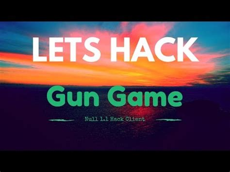 school hacked client minecraft lets hack gun