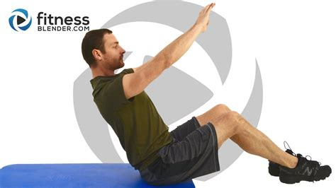 23 minute active static abs workout at home abs burnout routine
