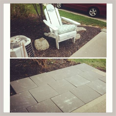 16x16 Patio Pavers Patio 16x16 Pavers From Lowes In A Brick Pattern For The Home Pinterest Bricks Lowes
