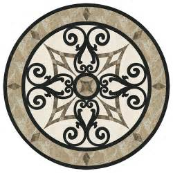 marble medallion for entryway