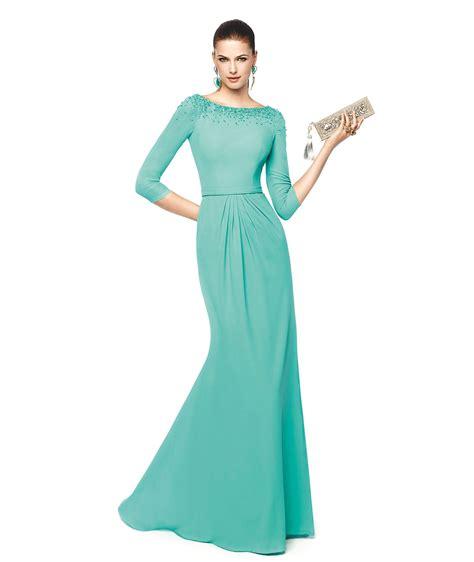 vestidos tres cuartos vestido de noche tres cuartos modelos con estilo de