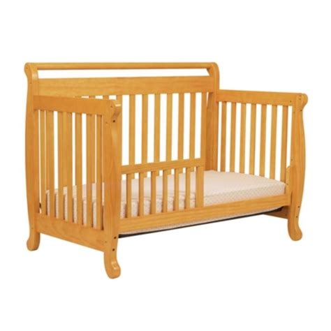 Davinci Emily 4 In 1 Convertible Wood Baby Crib In Honey Davinci Emily Convertible Crib