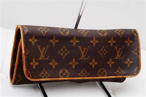 louis vuitton twin pochette monogram gm authentic purse