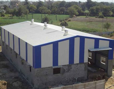 Fabrication Shed by Structural Fabricators Kolkata Industrial Shed Manufacturers