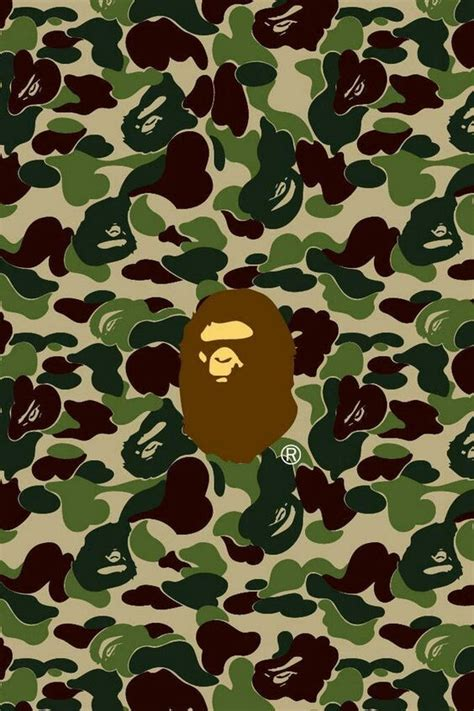 Green Camo Bape bape green camo bape bape wallpaper and