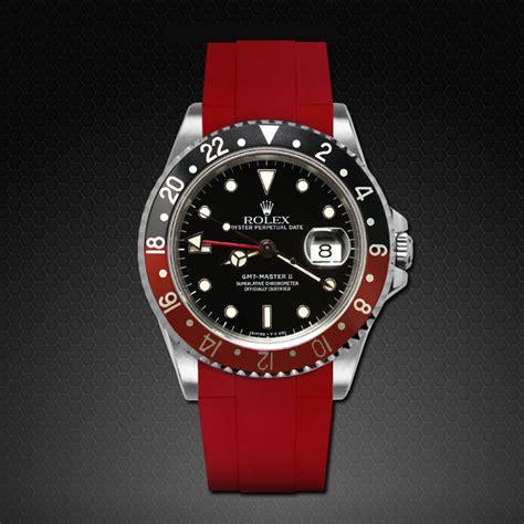 Jam Replika Rolex Gmt Master Ii Ss Black Bezel Swiss Eta 1 for rolex gmt master ii classic series rubber b bands straps