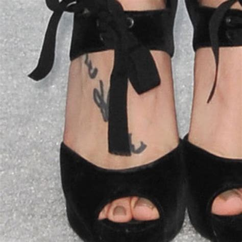 skylar grey tattoo skylar grey japanese foot style